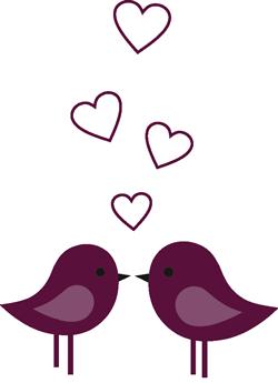 Hochzeit Vögel